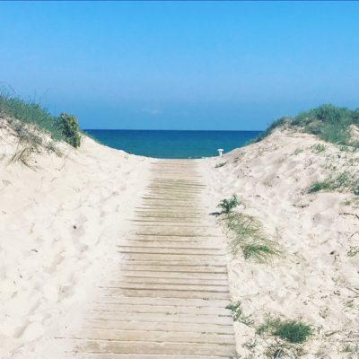 träningsresa strand