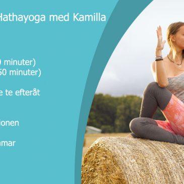 Anmäl dig till Hathayoga med Kamilla