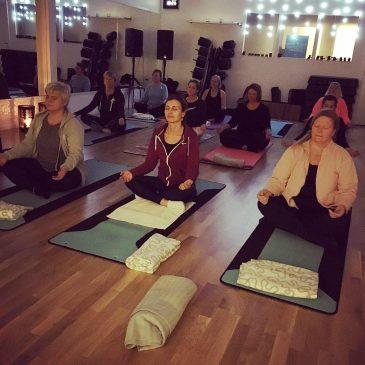 Hatha Yoga, ny kurs startar 24/2